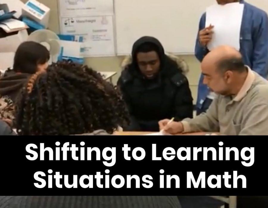 Shifting to Learning Situations in Math