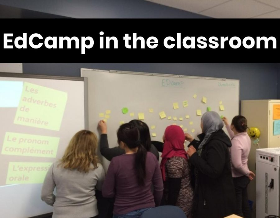 EdCamp in the classroom