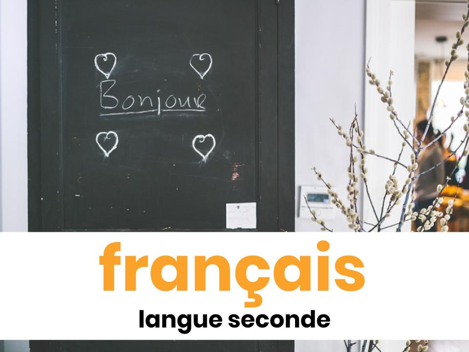 français langue seconde