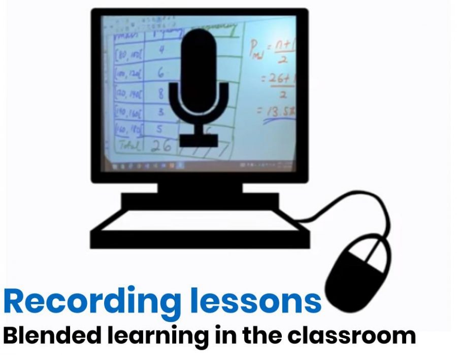 Recording Lessons: Blended Learning in the Classroom
