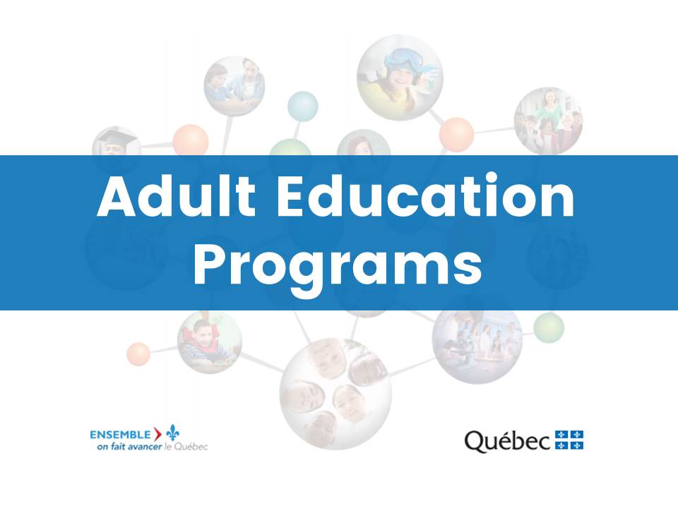 Adult Education Programs