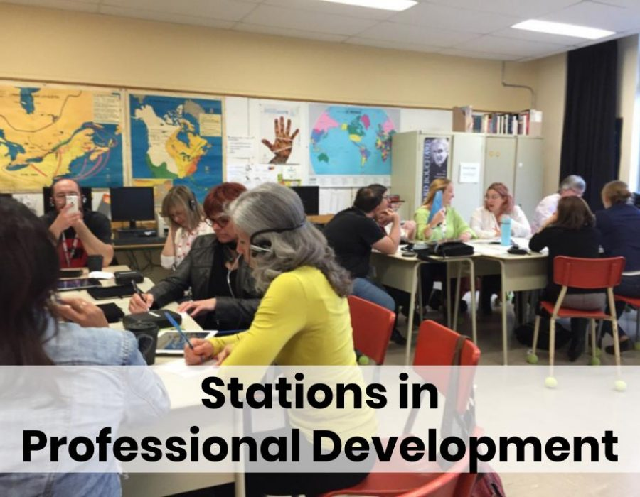 stations in professional development